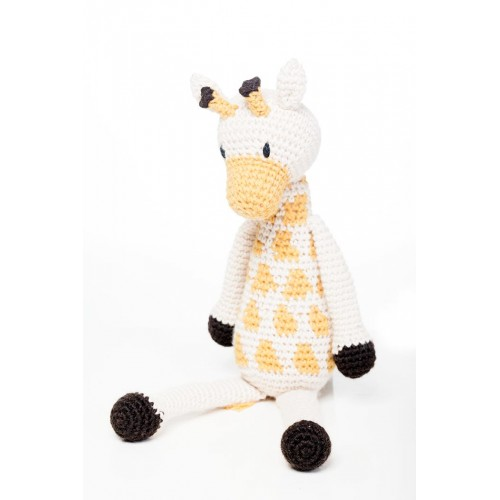 crochet pattern, english or german, giraffe Gerry | 500x500
