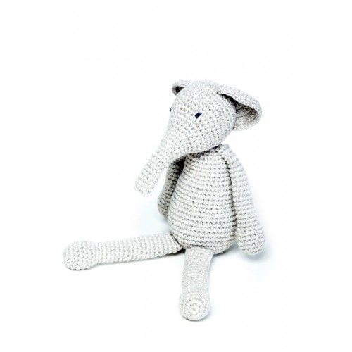 Amigurumi Elephant Mr Grey