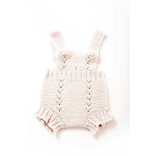Fanny et Leon Pearl Knitted Romper