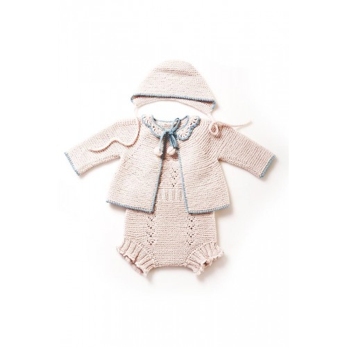 Fanny et Leon Pearl Knitted Set