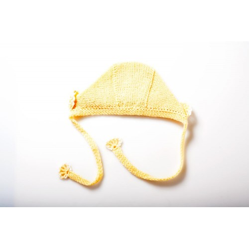 Fanny et Leon Organic Cashwool Hat Yellow